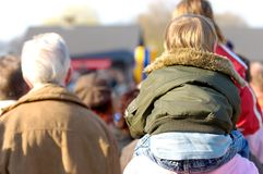 Event spectators Stock Images