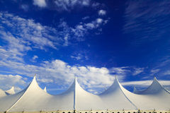 Event tent, Stowe, Vermont, USA Royalty Free Stock Image