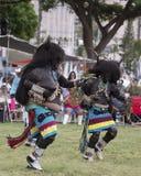 Hopi Buffalo Dancers stock photo