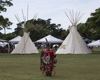 Pow Wow Time stock images