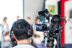 Event Video concept for films work template. Royalty Free Stock Photography