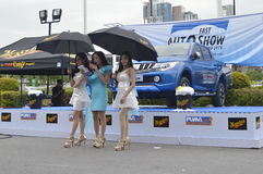 Event views of FAST Auto Show Thailand 2016 Stock Photography