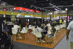Event views of FAST Auto Show Thailand 2016 Stock Images