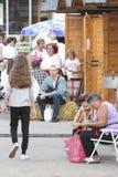 Event of the Vinkovci Autumn Stock Photo