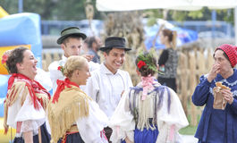 Event of the Vinkovci Autumn Royalty Free Stock Image