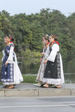 Event of the Vinkovci Autumn Stock Images