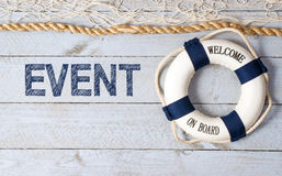 Event - Welcome on Board Stock Photography