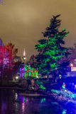 Event Winterlichter  in the Palmgarden Stock Images
