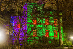 Event Winterlichter  in the Palmgarden Stock Image