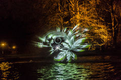 Event Winterlichter  in the Palmgarden Royalty Free Stock Photography
