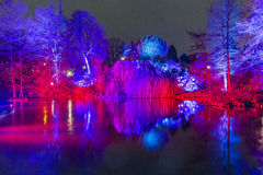 Event Winterlichter  in the Palmgarden Royalty Free Stock Images
