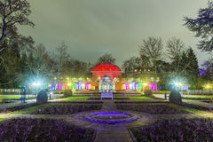 Event Winterlichter  in the Palmgarden Royalty Free Stock Image