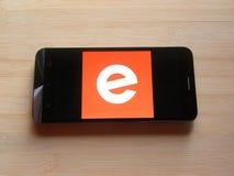 Eventbrite app royalty-vrije stock foto
