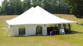 Eventi bianchi o tenda di nozze Immagine Stock Libera da Diritti