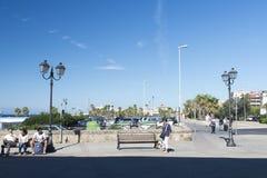 Eventi van Piazzaledegli, Civitavecchia, Italië Royalty-vrije Stock Foto