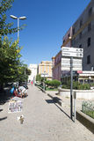 Eventi van Piazzaledegli, Civitavecchia, Italië Stock Foto
