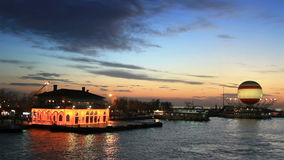 Eventide at Kadikoy Royalty Free Stock Image