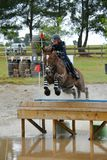 Eventing - Reitersport Stockfotos
