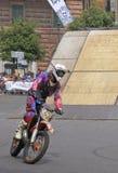 Evento acrobatico 2010 del motociclo di FMX Immagini Stock Libere da Diritti