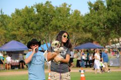 Evento Barktoberfest 2015 do cão Foto de Stock Royalty Free
