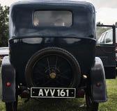 Evento clásico del coche del vintage de Austin Foto de archivo
