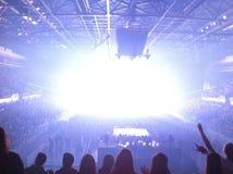 Evento con gli effetti della luce Immagine Stock Libera da Diritti