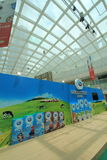 Evento 2015 da exploração agrícola da produção animal de Hong Kong Dutch Lady Pure Foto de Stock