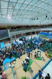 Evento 2015 da exploração agrícola da produção animal de Hong Kong Dutch Lady Pure Fotografia de Stock
