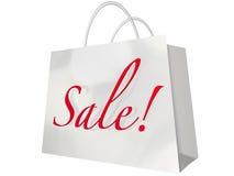 Evento da loja do cliente do saco de compras da venda Imagem de Stock