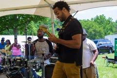 Evento da música de gospel em Booker T Monumento nacional de Washington imagem de stock royalty free