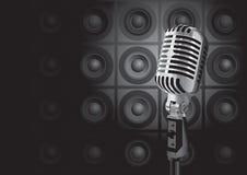 Evento da música (vetor) Foto de Stock
