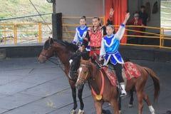 Evento da mostra do cavalo em Taiwan Foto de Stock