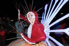 Evento das artes no parque Mardi Gras em Hong Kong 2014 Fotografia de Stock Royalty Free