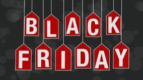 Evento de Black Friday ilustração do vetor