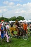 Evento de ciclo del alcalde en Cracovia con 3500 participantes Imagenes de archivo