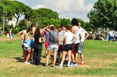 Evento de Korfball do verão em Istambul Fotografia de Stock