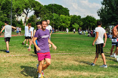 Evento de Korfball do verão em Istambul Foto de Stock