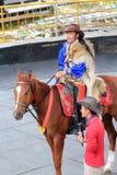 Evento de la demostración del caballo de Taiwán Fotografía de archivo libre de regalías