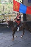 Evento de la demostración del caballo en Taiwán Imagenes de archivo