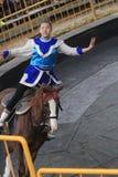Evento de la demostración del caballo en Taiwán Fotografía de archivo libre de regalías