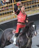 Evento de la demostración del caballo en Taiwán Fotografía de archivo