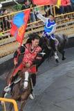Evento de la demostración del caballo en Taiwán Imagen de archivo libre de regalías