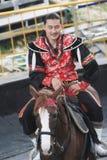 Evento de la demostración del caballo en Taiwán Fotos de archivo libres de regalías