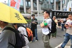 Evento de la marcha de Hong Kong del vigésimo sexto aniversario de las protestas de la Plaza de Tiananmen de 1989 Imagen de archivo libre de regalías