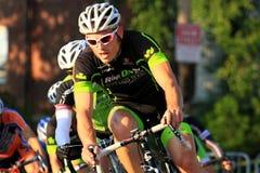 Evento de la raza de la calle de la bicicleta Foto de archivo libre de regalías