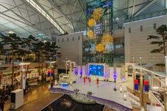 Evento de observación turístico del Año Nuevo de DEC 9,2017 en el aeropuerto Te de Inchon Fotos de archivo