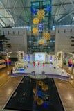 Evento de observación turístico del Año Nuevo de DEC 9,2017 en el aeropuerto Te de Inchon Imágenes de archivo libres de regalías