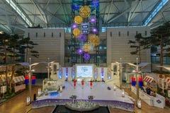 Evento de observación turístico del Año Nuevo de DEC 9,2017 en el aeropuerto Te de Inchon Foto de archivo libre de regalías