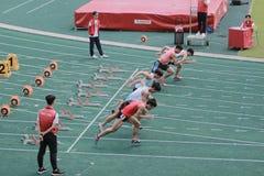 evento de pista 6to Hong Kong Games Fotografía de archivo
