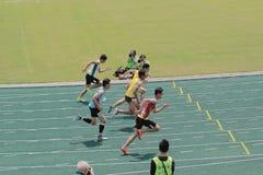 evento de pista 6to Hong Kong Games Imagen de archivo libre de regalías